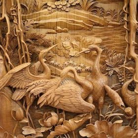HISTORY OF WOODCARVING
