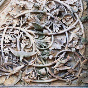 WOODCARVING OF ABADEH