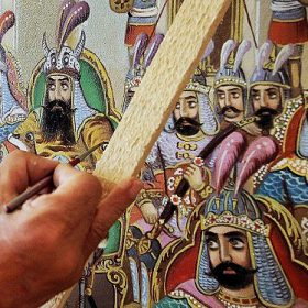 history of persian painting