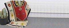 Handmade Floor Covering (Zilou) of Meybod